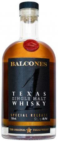 Balcones Whisky Single Malt Texas 1